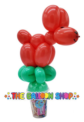 Picture of Dog - Balloon Candy Cup
