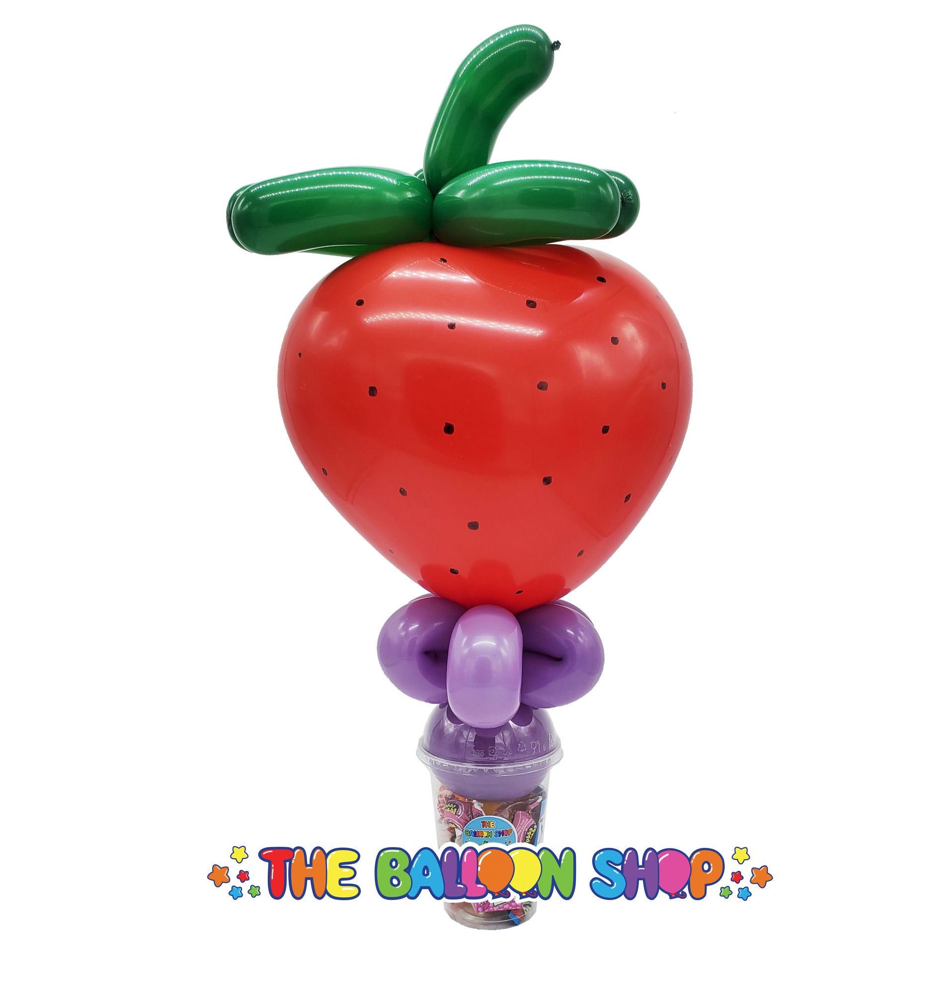 Picture of Strawberry - Balloon Candy Cup