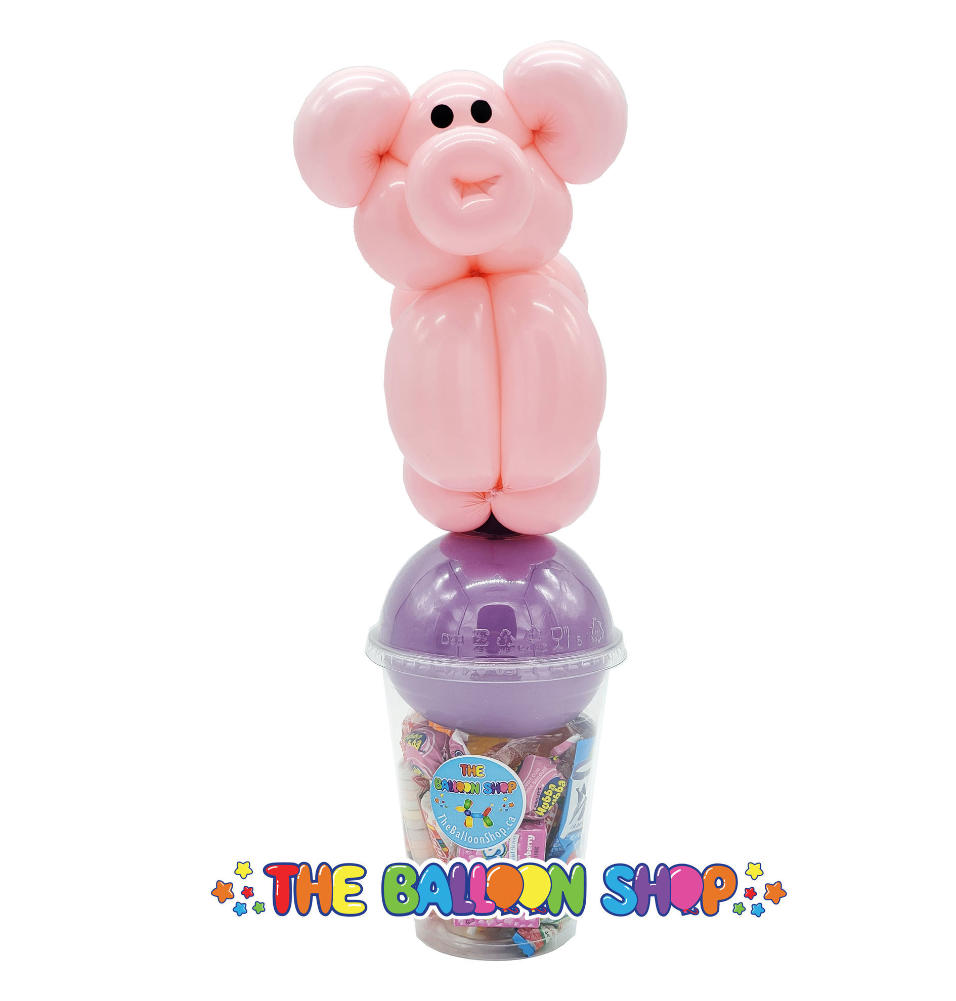 Picture of Pig - Balloon Candy Cup