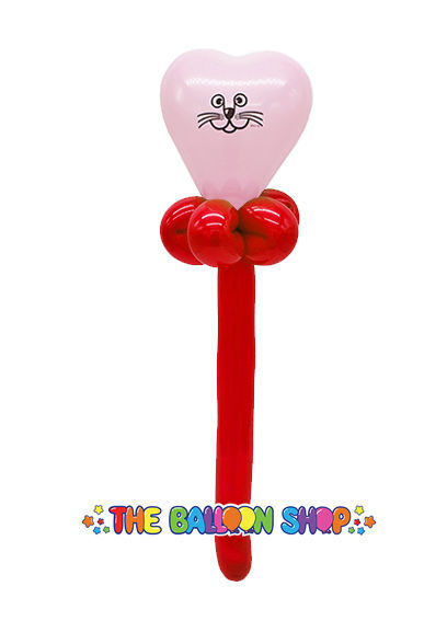 Picture of Cat Face Wand - Balloon