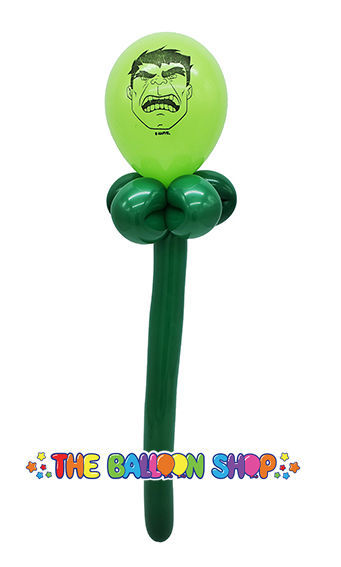 Picture of Hulk  Face Wand - Balloon