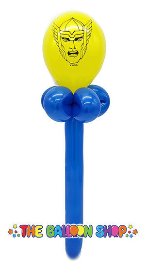 Picture of Thor  Face Wand - Balloon