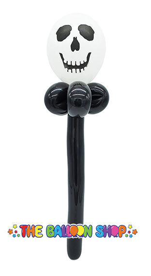 Picture of Skull  Face Wand - Balloon