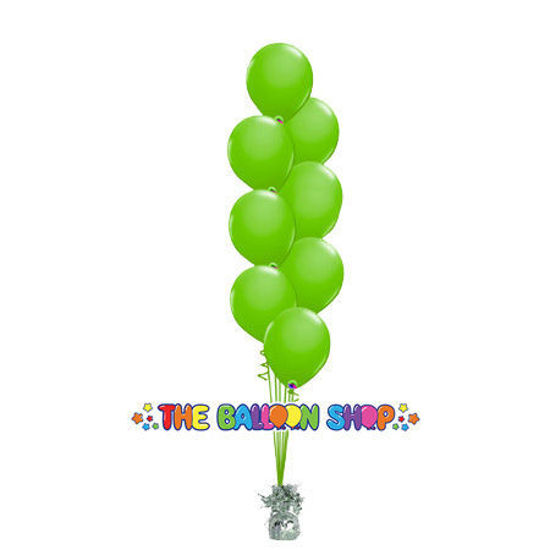Picture of 11 Inch Helium Balloon Bouquet of 8