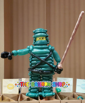 Picture of Lego Ninja Character - Balloon Centerpiece