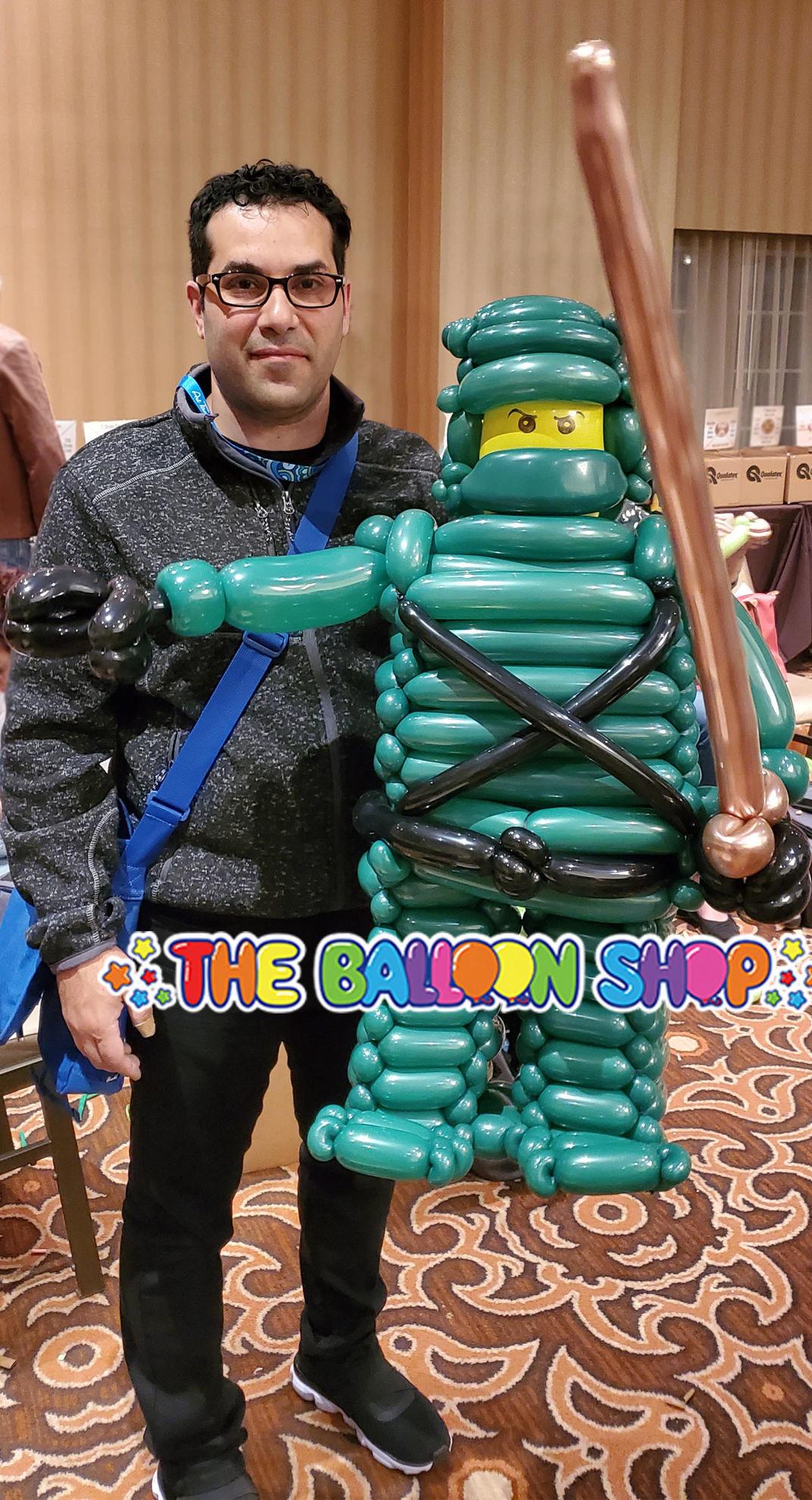Picture of Lego Ninja Character - Balloon Centerpiece