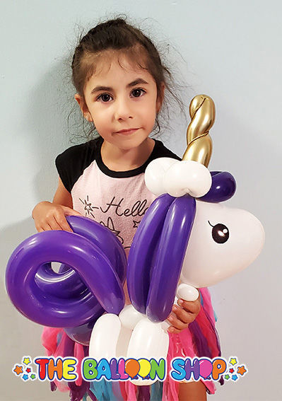 Picture of Baby Unicorn - Balloon