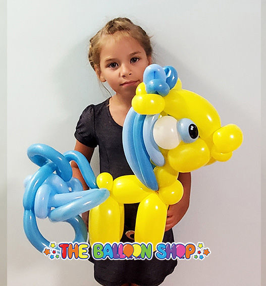 Picture of Deluxe Pony - Balloon Centerpiece