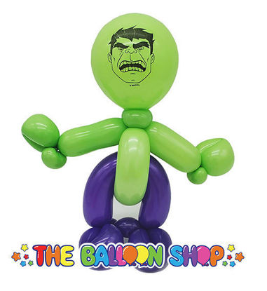 Picture of Hulk  Loopy - Balloon