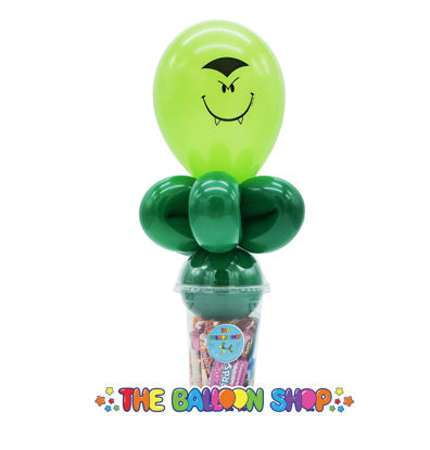 Picture of Vampire Face  - Balloon Candy Cup