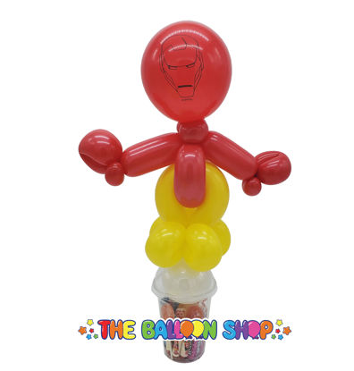 Picture of Iron Man Loopy - Balloon Candy Cup