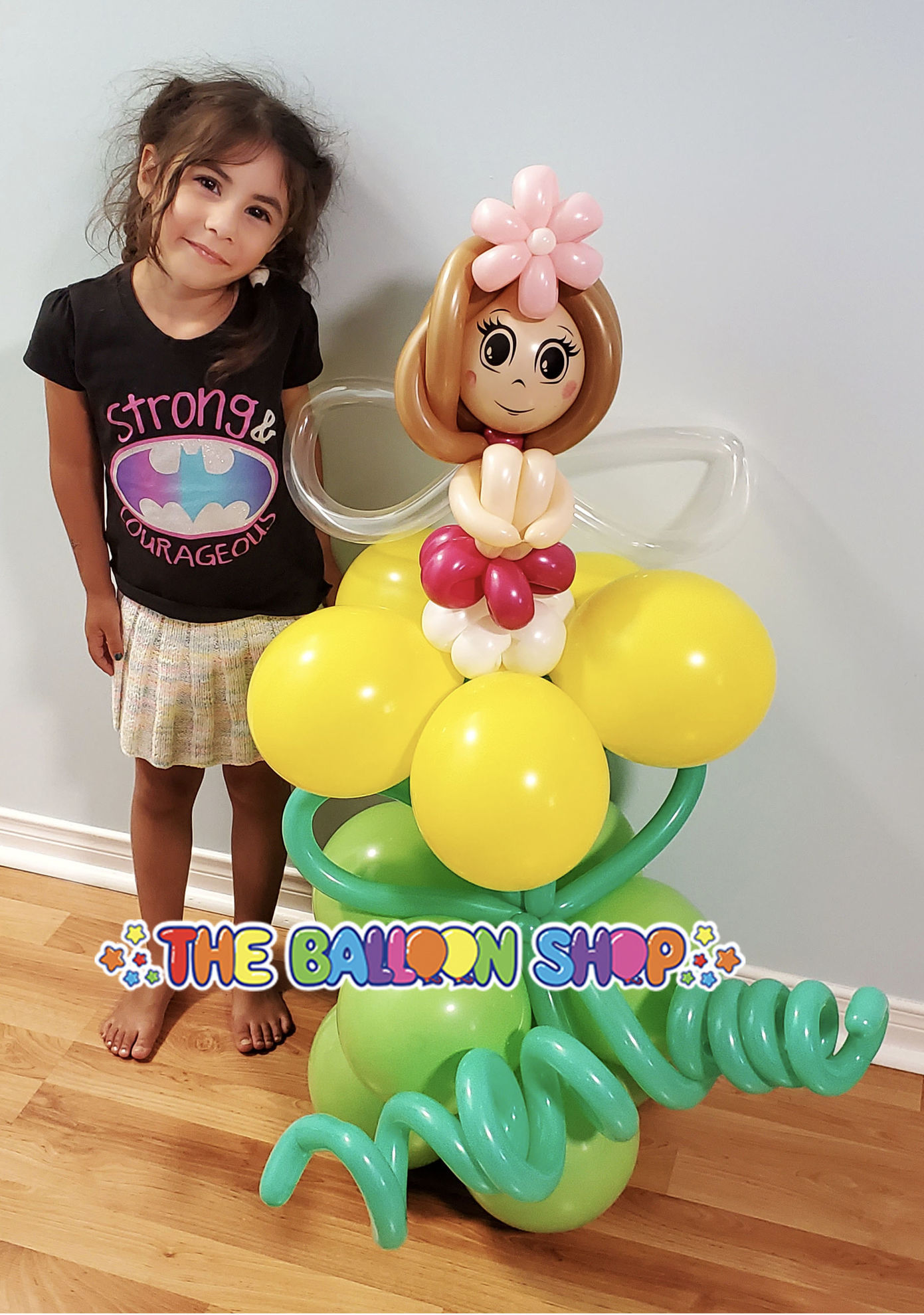 Picture of Sitting Fairy  - Balloon Centerpiece