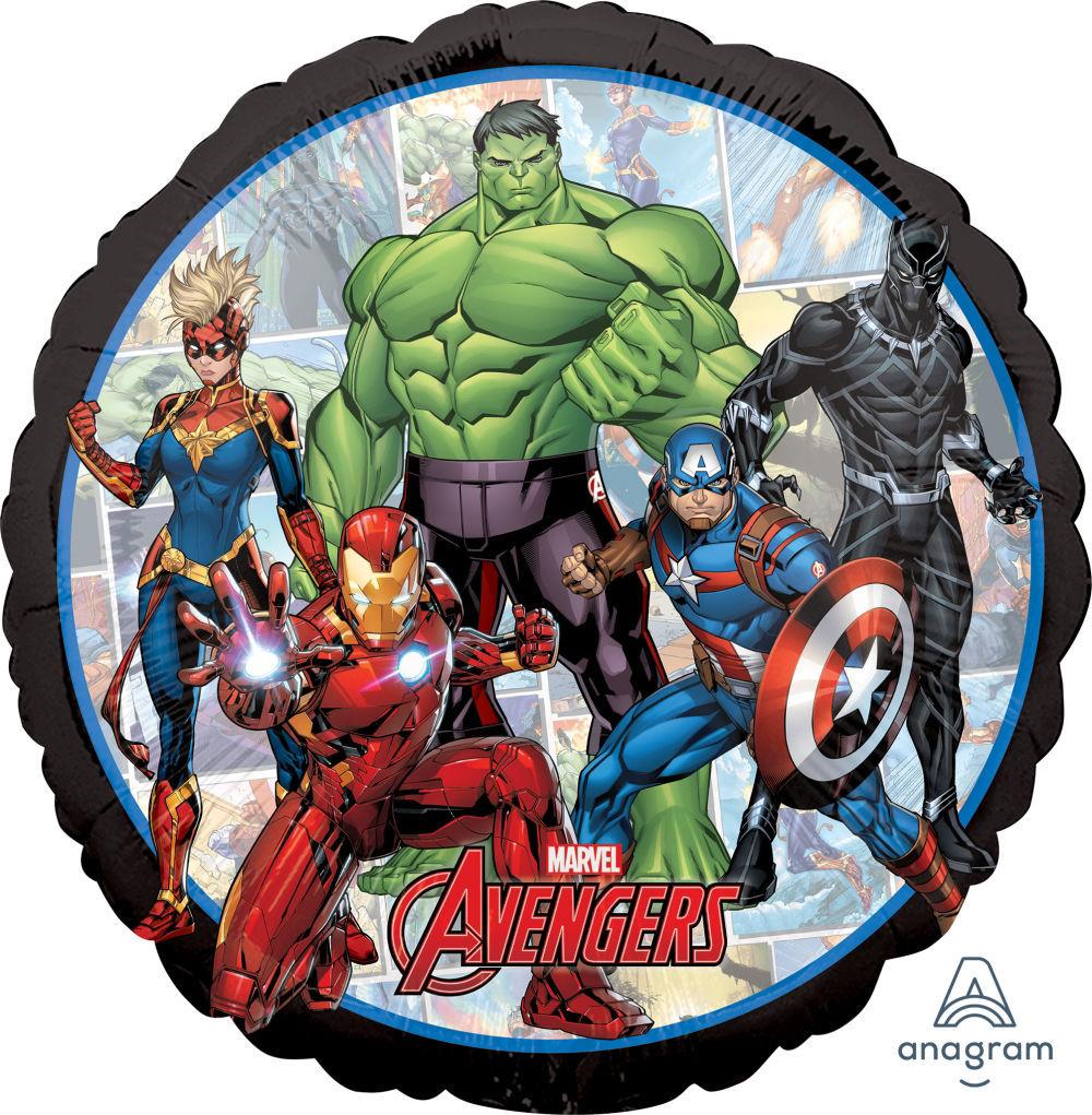 Picture of Avengers Marvel Powers Unite - Foil Balloon Bouquet (5 pc)