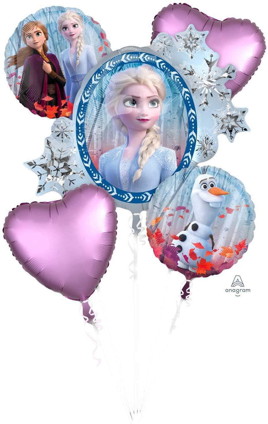 Picture of Frozen II - Foil Balloon Bouquet  (5 pc)