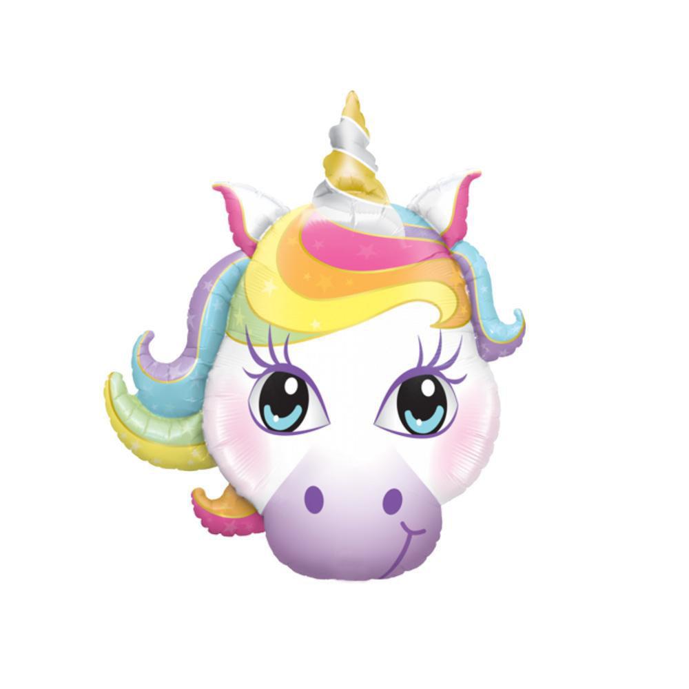 Picture of Balloon Bouquet -  Birthday Unicorn (7pc)