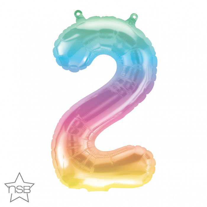 """Picture of 16"""" Number 2 Jelli Ombre (air-filled)"""