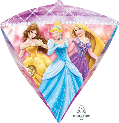"Picture of 17"" Disney Princess Diamond Balloon  (helium-filled)"