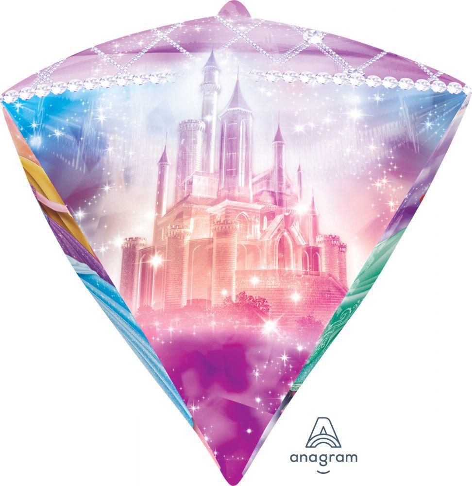 "Picture of 17"" Disney Princess Diamond Balloon  (helium-filled)"