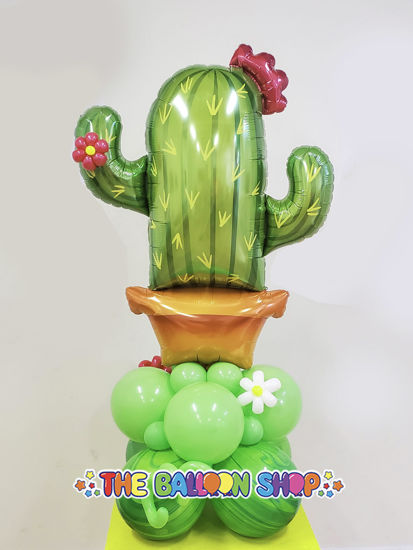 Picture of Giant Cactus Balloon Arrangements (air - filled)