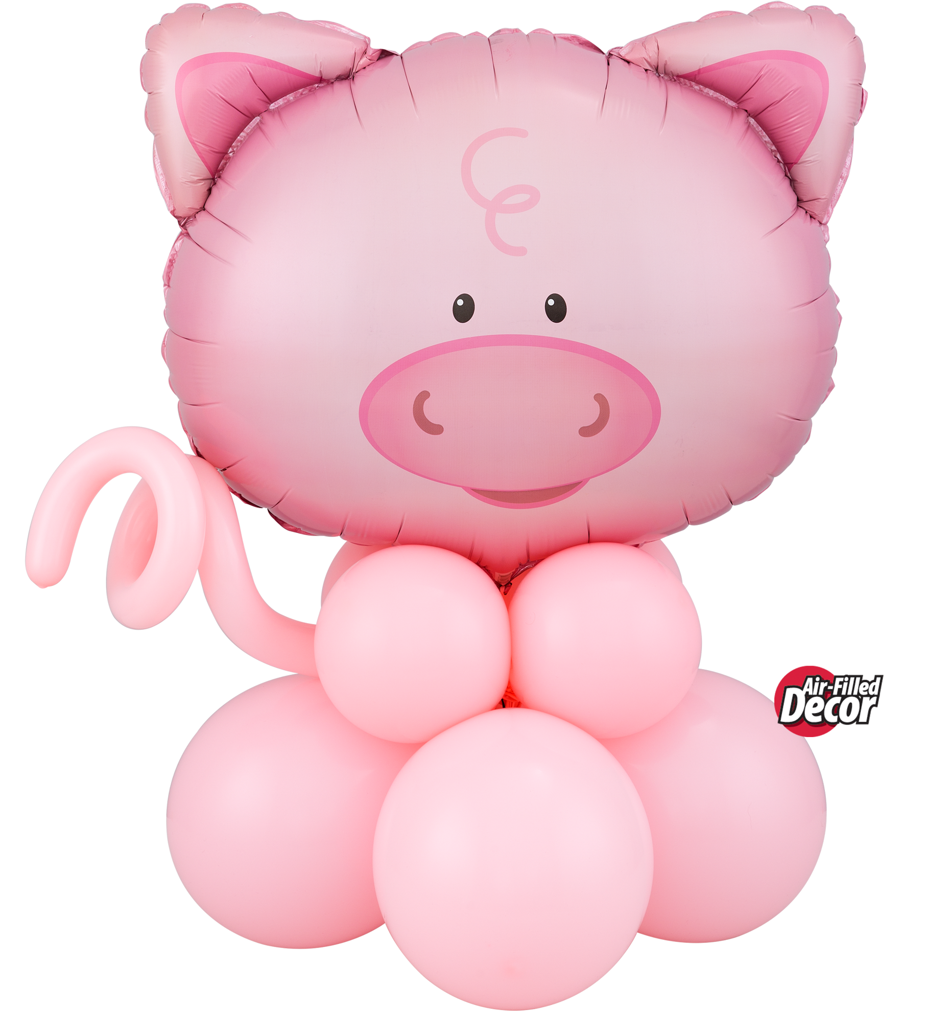 Picture of Playful Pig  Balloon Centerpiece