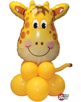 Picture of Jolly Giraffe Balloon Centerpiece