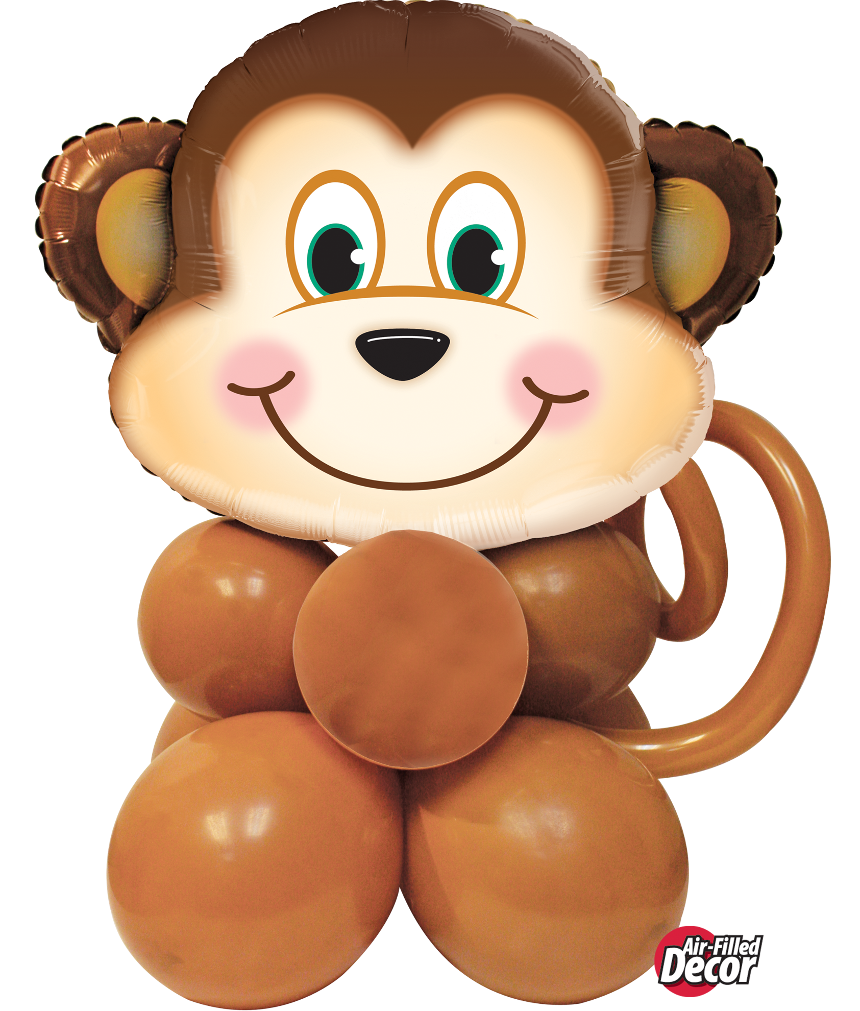 Picture of Mischievous Monkey Balloon Centerpiece
