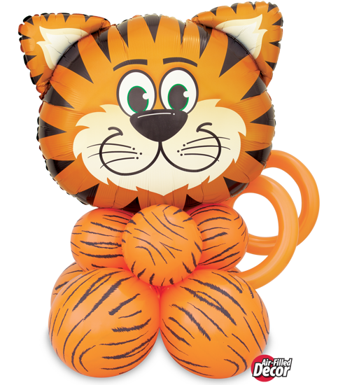 Picture of Tickled Tiger Balloon Centerpiece