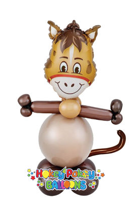 Picture of Mini Hilarious Horse - Balloon Centerpiece