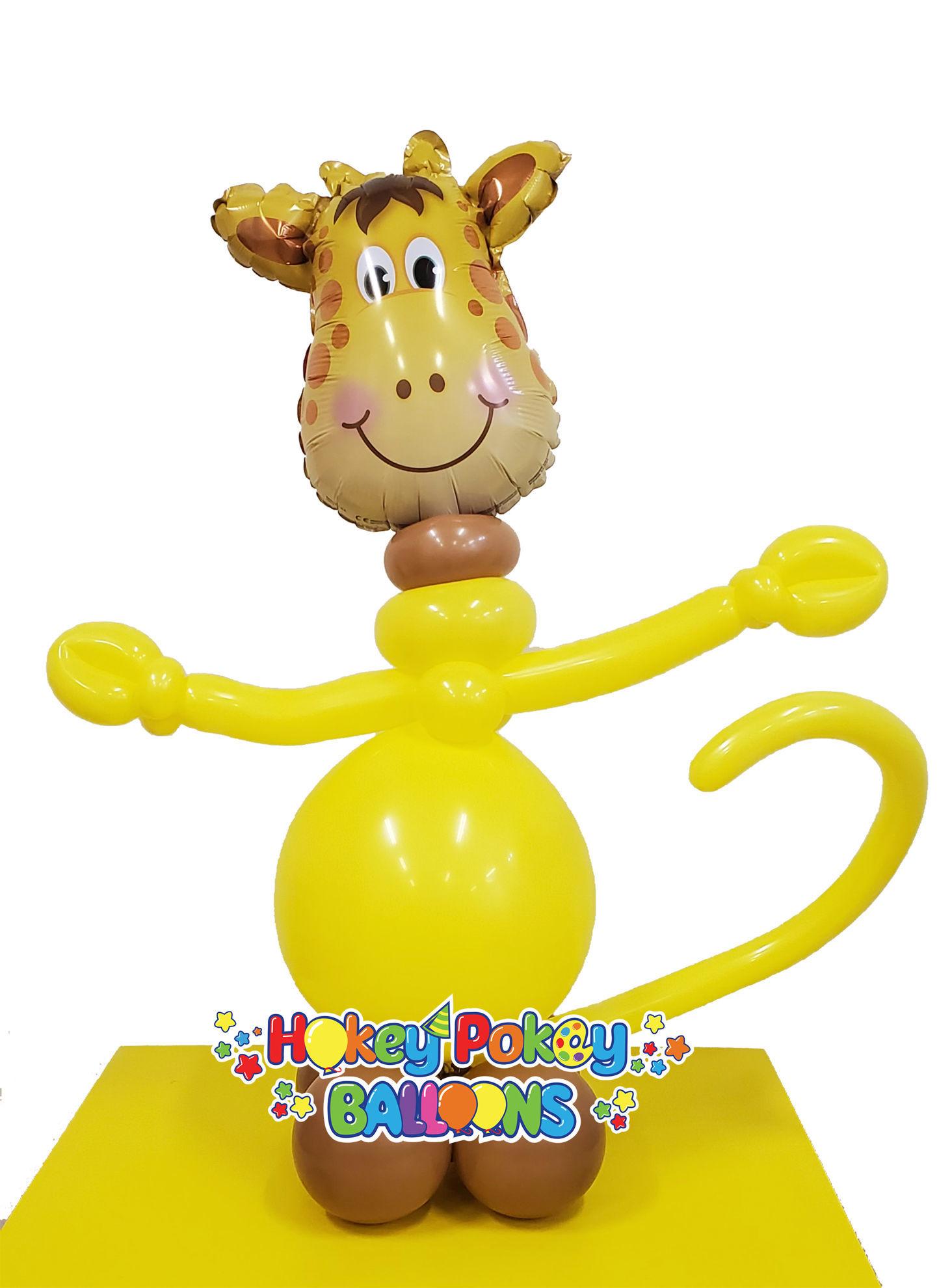 Picture of Mini Jolly Giraffe - Balloon Centerpiece