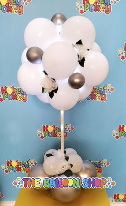 Picture of 18 Balloon Topiary - Balloon Centerpiece  (air inflated)