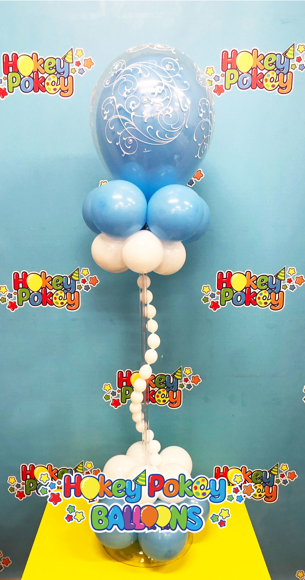 Picture of Enchanted  Balloon Centerpiece  (air inflated)