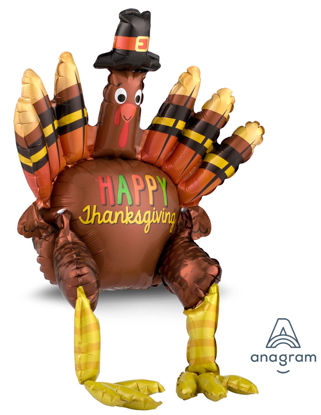 Picture of 26'' Sitting  Turkey Balloon (air-filled)