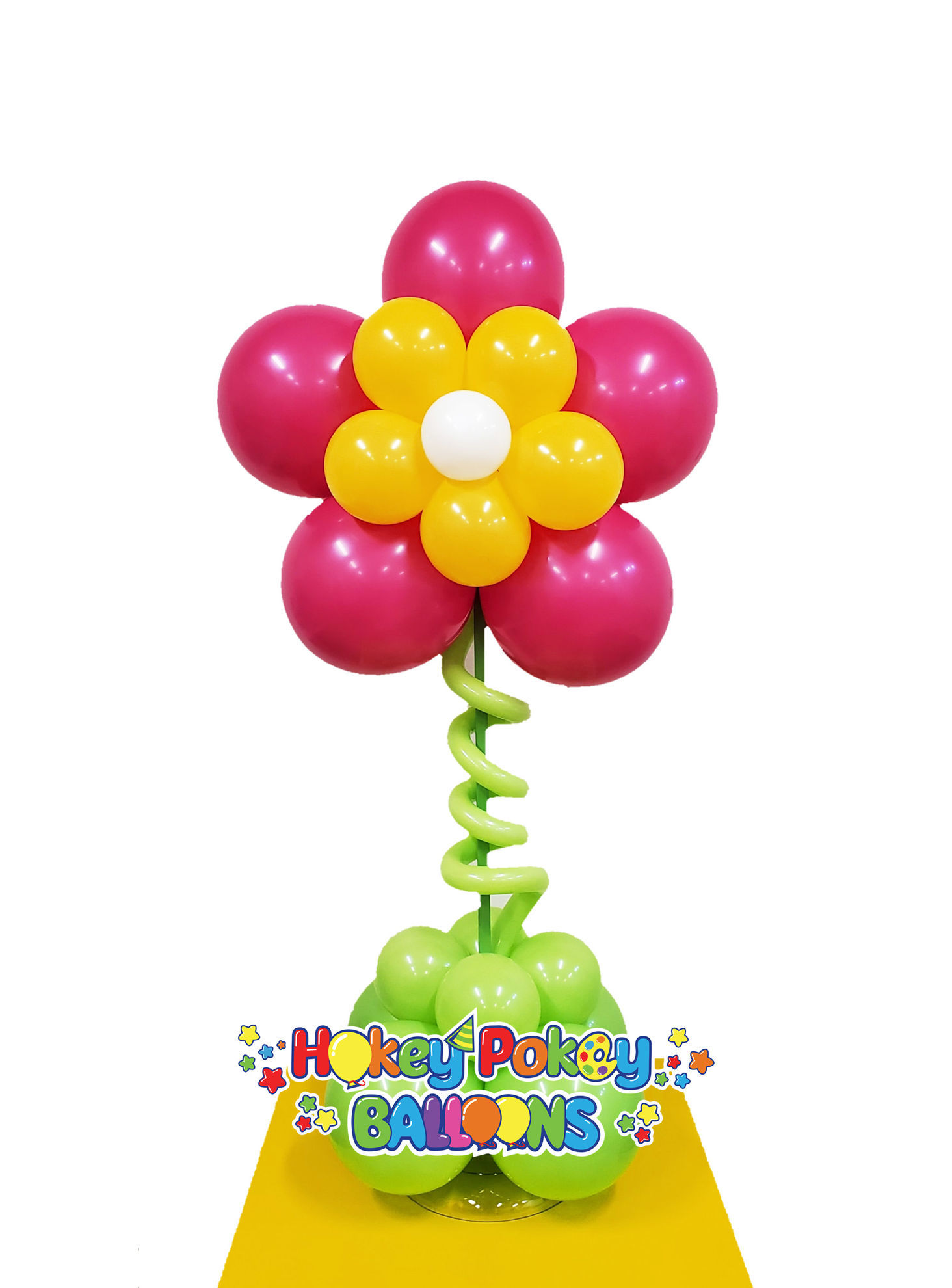 Picture of Flower Topiary -  Balloon Centerpiece  (air inflated)