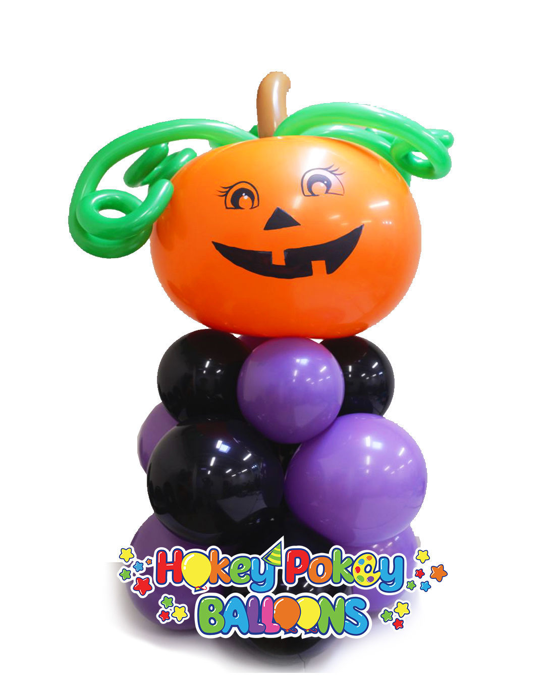 Picture of Giant Pumpkin - Mini Balloon Column