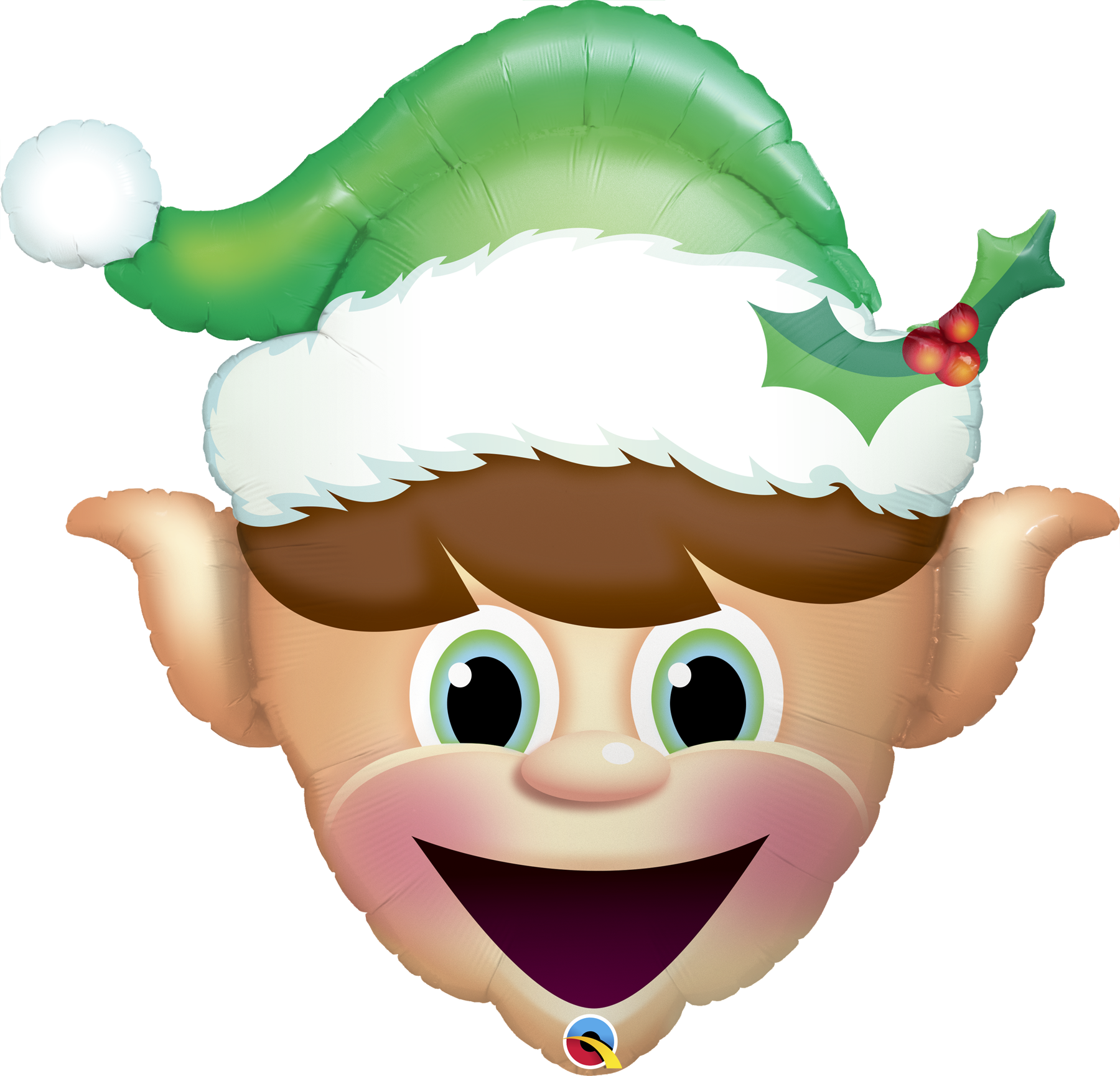 "Picture of 35"" Christmas Elf Foil Balloon (helium-filled)"