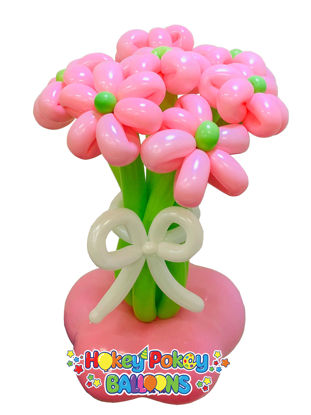 Picture of Flower Blossom Balloon Bouquet of 7