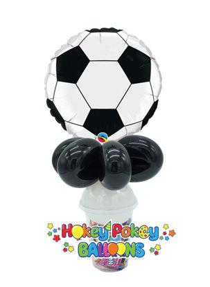 Picture of Soccer Ball - Balloon Candy Cup