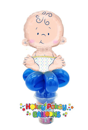 Picture of Sitting Baby - Foil Balloon Candy Cup