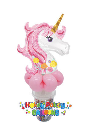 Picture of Magical Unicorn - Balloon Candy Cup