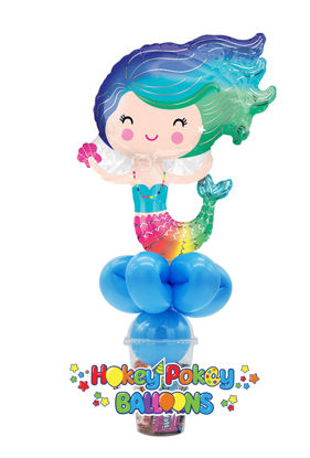 Picture of Happy Mermaid - Balloon Candy Cup