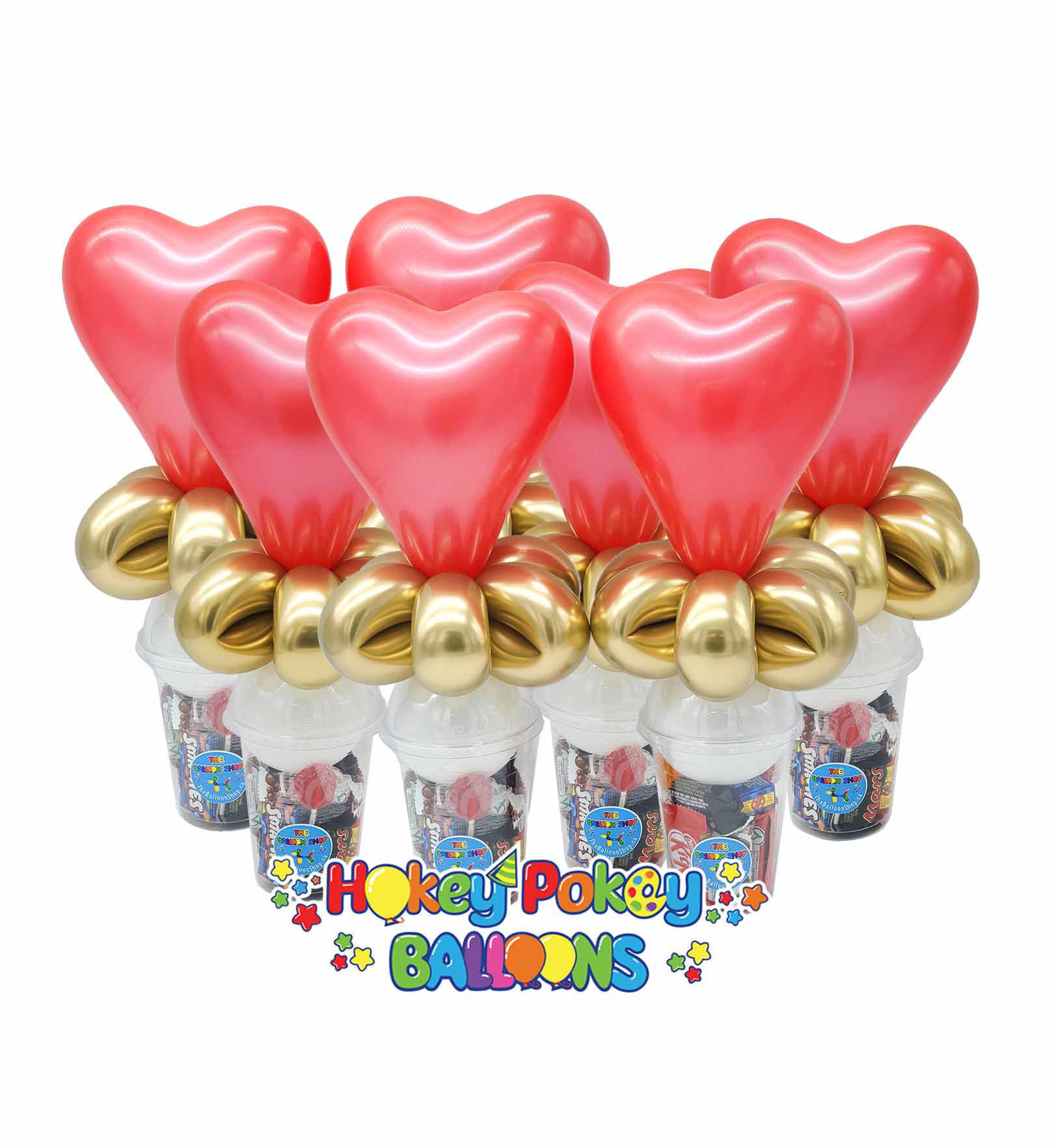 Picture of Heart  - Balloon Candy Cup