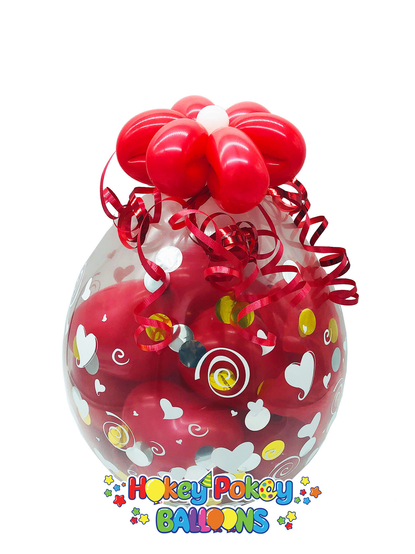 Picture of Mini Chocolate Lover - Stuffed Balloon Gift