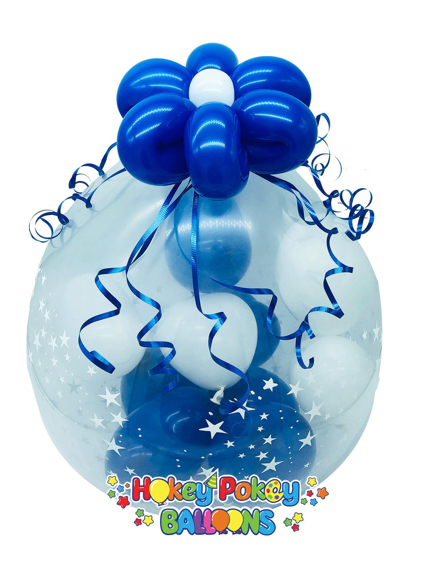 Picture of Mini Chocolate Burst - Stuffed Balloon Gift