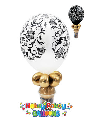"Picture of 11"" Damask Balloon Candy Cup"