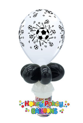 "Picture of 11"" Soccer Balls Balloon Candy Cup"