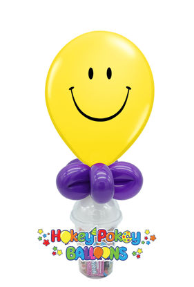 "Picture of 11"" Smile Face -  Balloon Candy Cup"