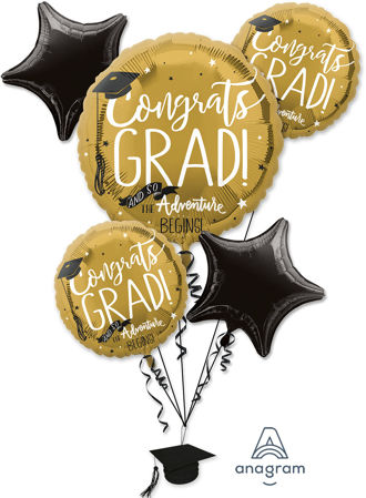 Picture for category Graduation Balloon Bouquet