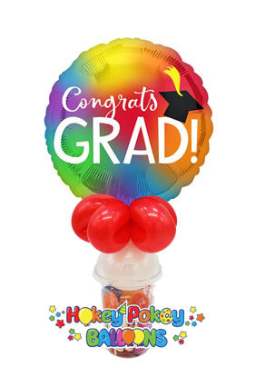 Picture of Colorful Graduation Balloon Candy Cup