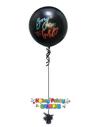 Picture of Boy or Girl Gender Reveal GiantBalloon (helium-filled)