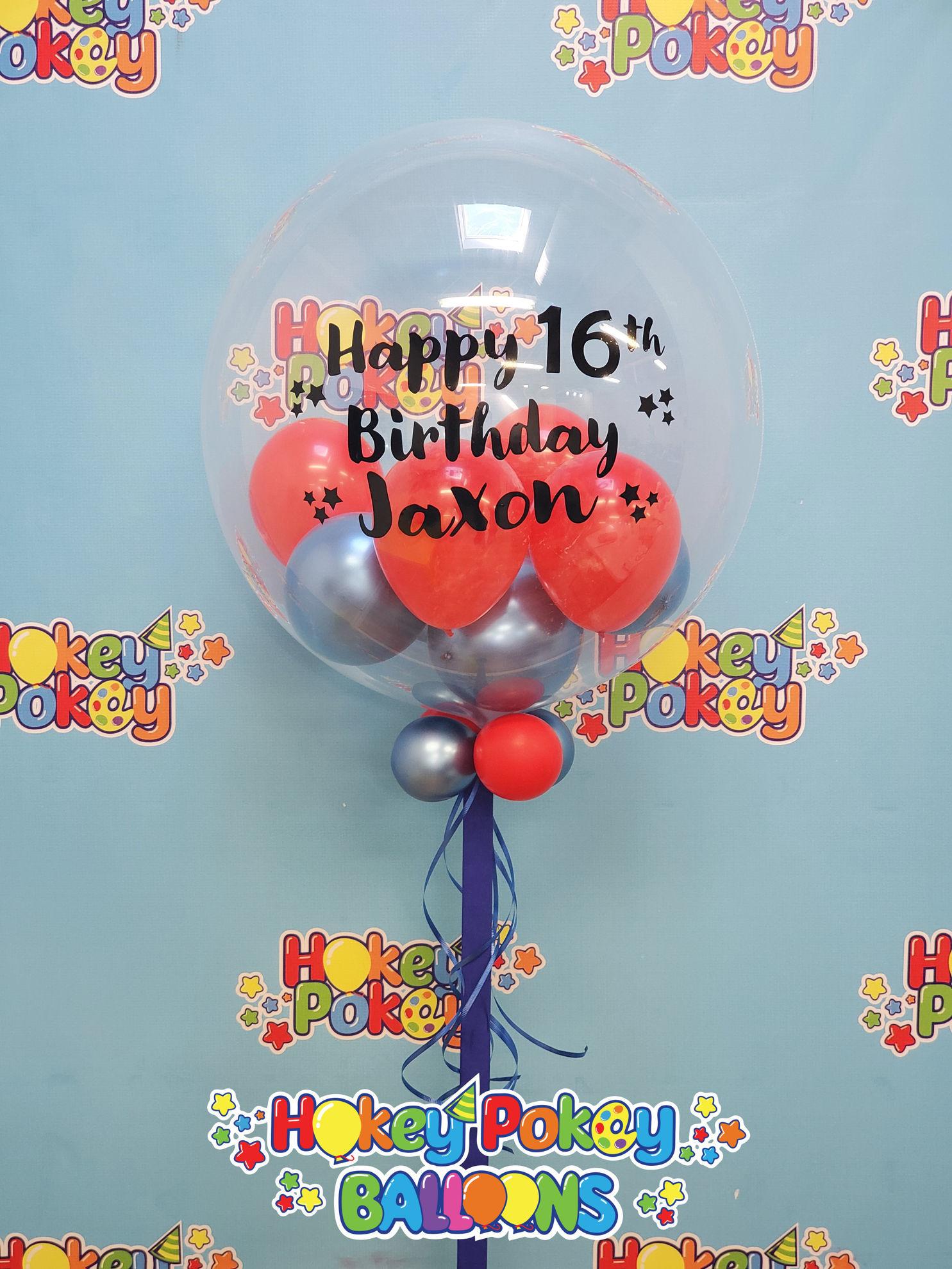 "Picture of Personalized 24"" Stuffed Deco Bubble"